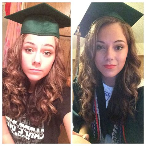 hairstyles when wearing a graduation cap graduation cap hairstyle ideas images about graduation on
