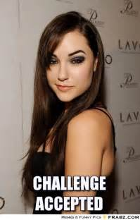 Sasha Grey Meme - challenge accepted sasha grey meme generator captionator