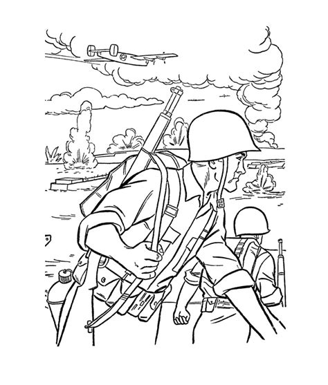 Coloring Pages For Guys free printable army coloring pages for