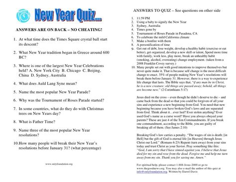 Quiz Questions New Year | new years trivia questions and answers google search
