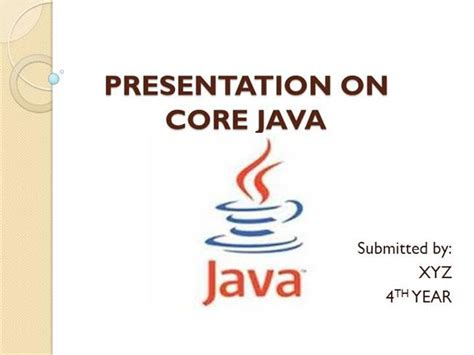 core java pattern program java ppt s