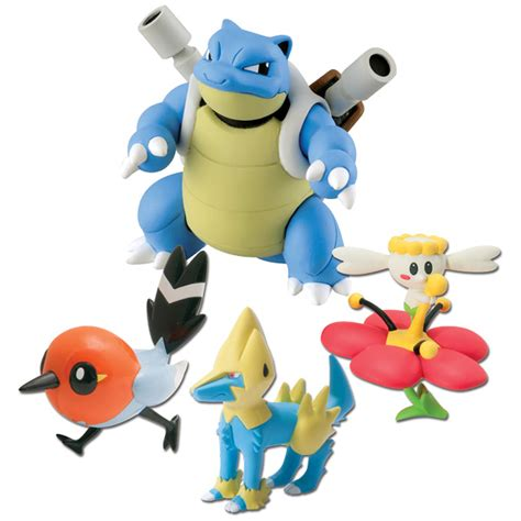 x y figures pok 233 mon 4 figurines x y tomy king jouet figurines et