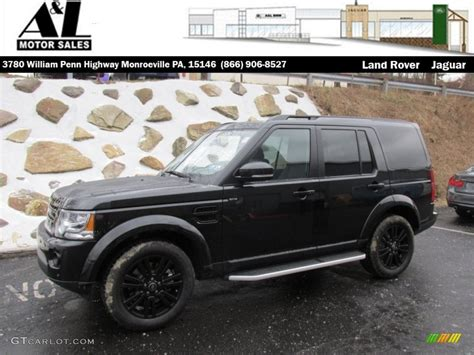 land rover lr4 black interior 2015 santorini black metallic land rover lr4 hse luxury