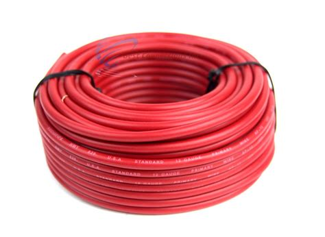 what color is ground wire 12 ga 50 ft rolls primary auto remote power ground