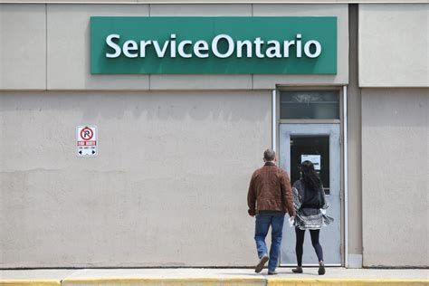 service ontario service ontario centres suffer technical problems province wide toronto
