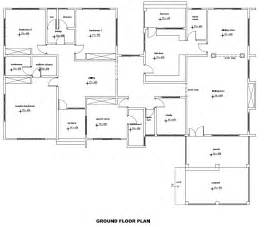 are house floor plans record 4 bedroom house plan for african countries