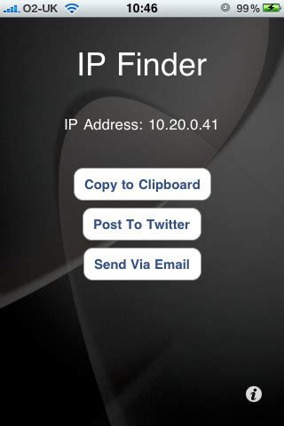 Ip Chicken Whats My Ip Address Ip Address Lookup Ipfinder What S My Ip Address App For Iphone