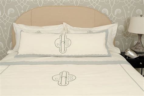 monogram bedding home