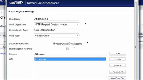 web based r blocking web based email attachments with a sonicwall