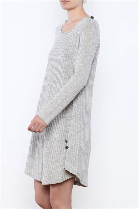 Button Knit Dress simply noelle button knit dress from massachusetts by moxy
