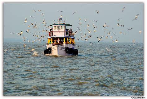 go2india in elephanta caves boats and birds - Boats Birds