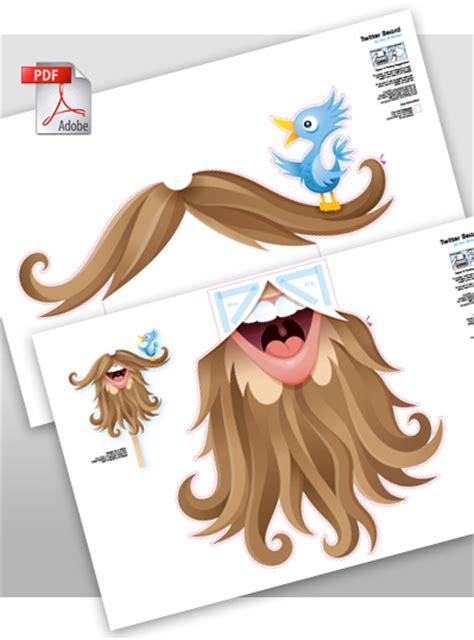 printable beard mask humour d 233 guisement barbe du pere no 235 l le blog de easydoor