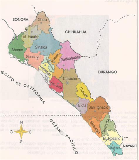 mapa de guasave sinaloa rios de sinaloa mapa