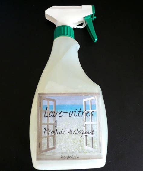 Faire Produit Lave Vitre by Produit Vitres Maison Ventana