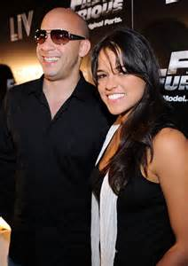 Michelle rodriguez in 2001 peep the photo below of vin and micelle