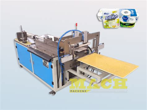 Toilet Paper Roll Machine - semi automatic toilet paper rolls bundling machine buy