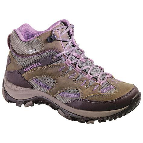 s merrell salida mid waterproof hiking boots