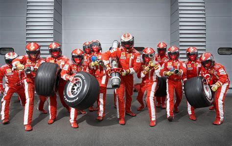 Garage Pit Design insanely fast ferrari f1 pit crew in motion lost in internet