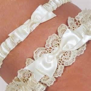 garter wedding eleanor lace ivory wedding garter set