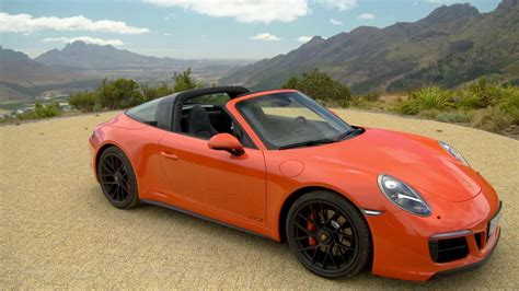 orange porsche targa 2017 porsche 911 targa 4 gts youtube