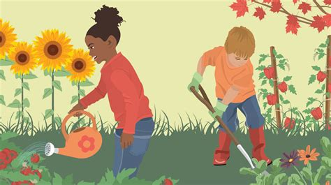 teaching children  garden fixcom
