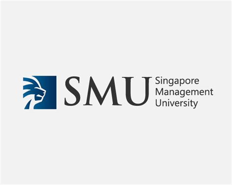 design management university bold upmarket logo design for singapore management
