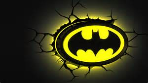 Blue Wall Stickers batman emblem 3dlightfx