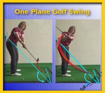 one plane swing what is the difference between a one plane golf swing and