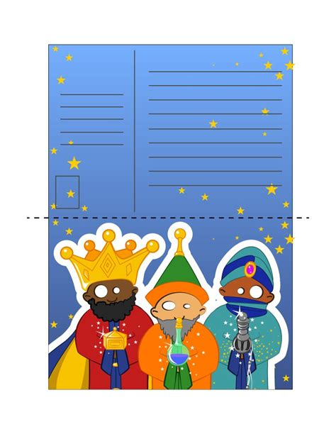 Gift Letter Source Of Gift How To Craft Melchior Gaspar And Balthazar Hellokids