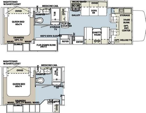 sunseeker motorhome floor plans 2013 forest river sunseeker 3170ds class c freedom rv az