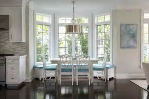 not all banquettes have high backs this window seat built into bay dining table with bench seating kitchen room