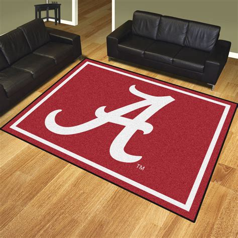 Alabama Area Rug Of Alabama Crimson Tide Area Rug 8 X 10