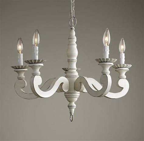 My Favorite Lighting Etienne Chandelier I Rh Baby White Wooden Chandelier