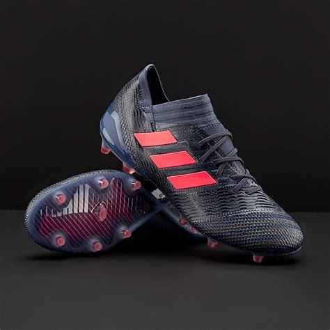 adidas womens nemeziz 17 1 fg trace blue zest black womens soccer cleats firm