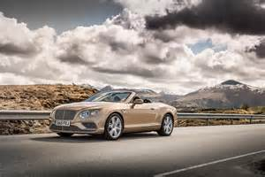 Bentley Continental Price Range 2016 Bentley Continental Gt W12 Convertible Front Three
