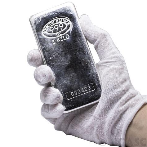 1 Kilo Silver Bar by Buy 1 Kilo Silver Bar Johnson Matthey 32 15 Troy Oz 999