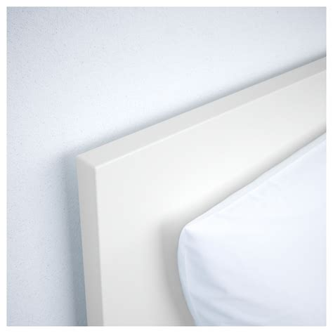 malm bed frame with 4 storage boxes white lur 246 y standard