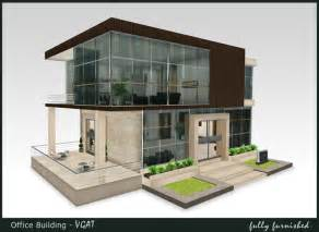 Home Design Virtual Shops S L by Home Arcitect Modern Office Building Design