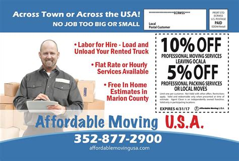 save moving cost free itemized list hourly moving discount offer for and packing moving company ocala moving trucks movers ocala fl