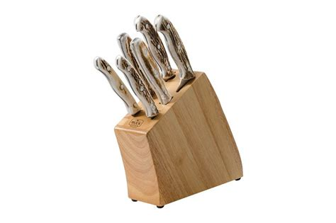 buck knife set 7 cutlery set elk buck 174 knives official site