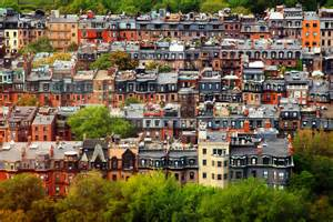 Chicago Row Houses - file boston backbay brownstones jpg