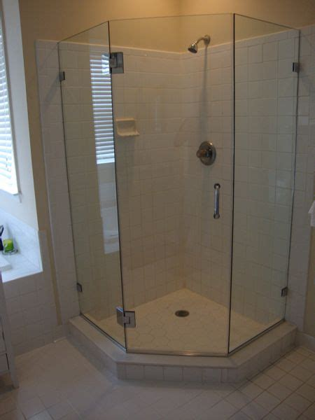 We Recommend Neo Angled Frameless Shower Glass Enclosures Custom Neo Angle Shower Doors