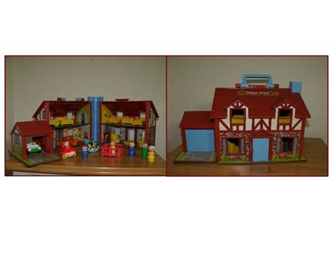 fisher price dolls house fisher price doll house circa 1984 fisherprice and old toys pinte