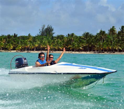 speed boat driving bavaro splash speedboat ride iheartdr