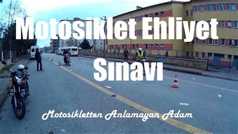 motosiklet ehliyet sinavi youtube