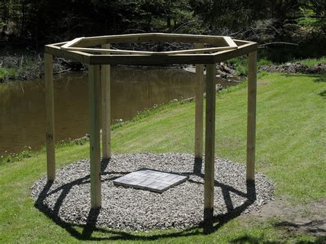 hexagon fire pit swing fantastic diy project porch swings around a cfire
