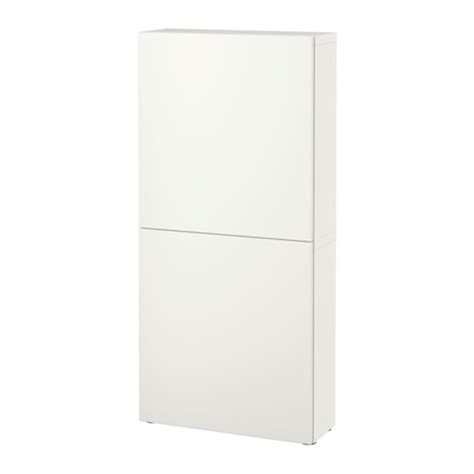 ikea besta cupboard best 197 wall cabinet with 2 doors lappviken white ikea