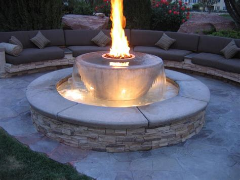 Outdoor Gas Firepits Pits Living In Style