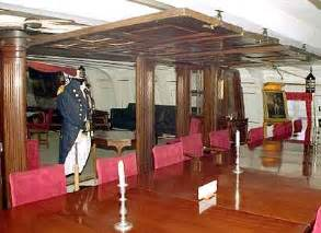 battle of cape st vincent hms victory the admiral s cabin