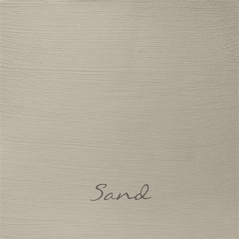Sand In Autentico Chalk Paint Shabbyand